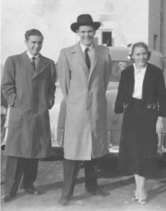 Don Warren H Richard Hall Amelia Hall early days small