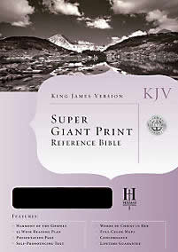 Holman Super Giant Print KJV Bible